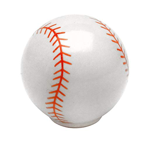 10 Pack - Cosmas Athleticz Collection 67121 Baseball Round Cabinet Hardware Knob 1-1/4