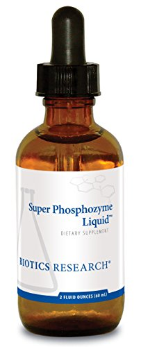 Biotics Research Super Phosphozyme LiquidTM- Phosphorous in Liquid, Electrolytes. Healthy Bones and Teeth, Protein Production, Energy Support. 40mg/Drop. 2 Fl Oz (Ortho Phos)