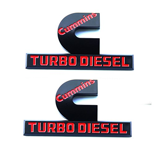 cummins turbo diesel badge - 9