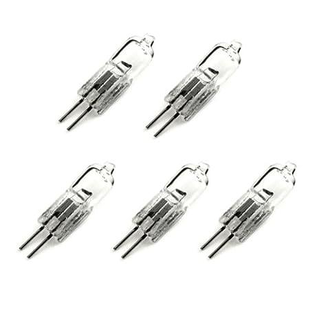 eTopLighting G4-12V-20W-5P 20-watt 12-volt G4 Base JC Type Halogen Light Bulb, 5-Pack - 20w Halogen Bulb 4mm Pin