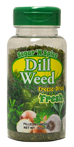 - Freeze-Dried Dill Weed