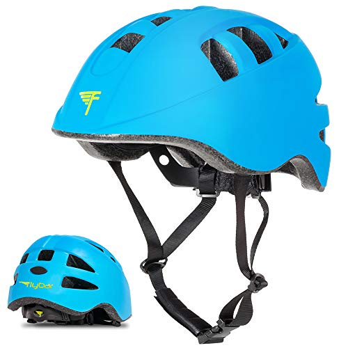 Flybar Junior Helmets for Kids (Blue, Small)