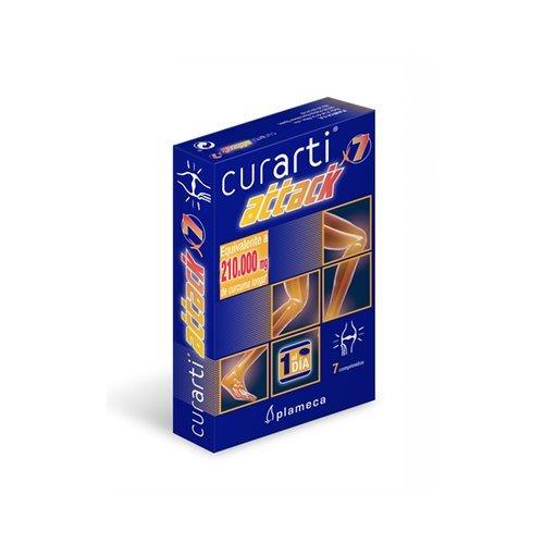 Curarti Attack 7 comprimidos de Plameca: Amazon.es: Salud y cuidado personal