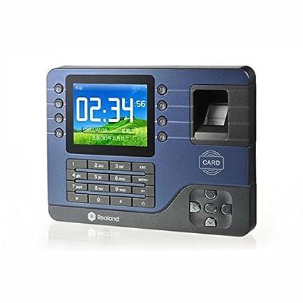 Pegasus Realand a-C091 3.2 tcp / ip tiempo biométrico de huellas digitales asistencia récord de reloj: Amazon.es: Electrónica
