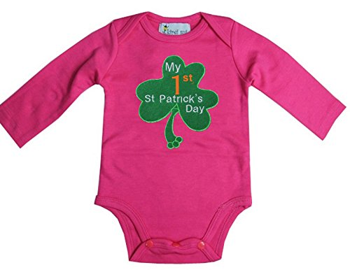 Kirei Sui Baby 1st St Patrick's Day Bodysuit X-Small Hot -
