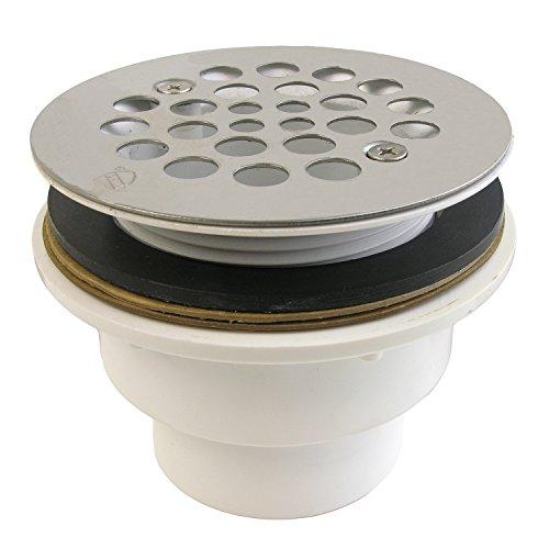 (LASCO 03-1182 Pvc Fiberglass Shower Drain, 2
