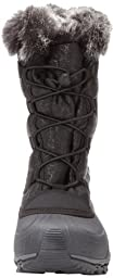Kamik Women\'s Momentum Snow Boot,Black,8 M US