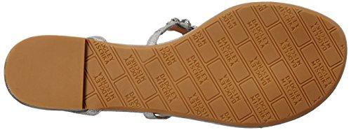 Badgley Plateado Cara Mujer II Sandalias de de Vestido Mischka 4qZrP4