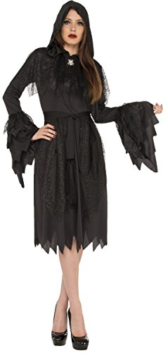 Rubie's Costume Co. Women's Cloak of Darkness Costume, Black, Standard