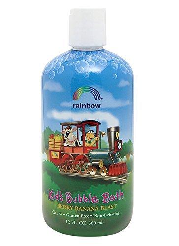 Banana Blast (Rainbow Research Organic Herbal Bubble Bath for Kids Berry Banana Blast - 12 Fl Oz, 12 Fluid Ounce)