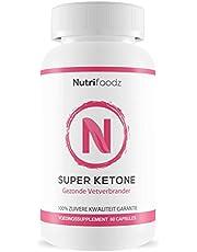 Nutrifoodz Super Ketones - Natural Fatburner - 60 capsules Duo Pack - 100% Vegan