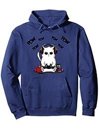 Gamer Cat Hoodie Cute Cat Gaming Hoodie