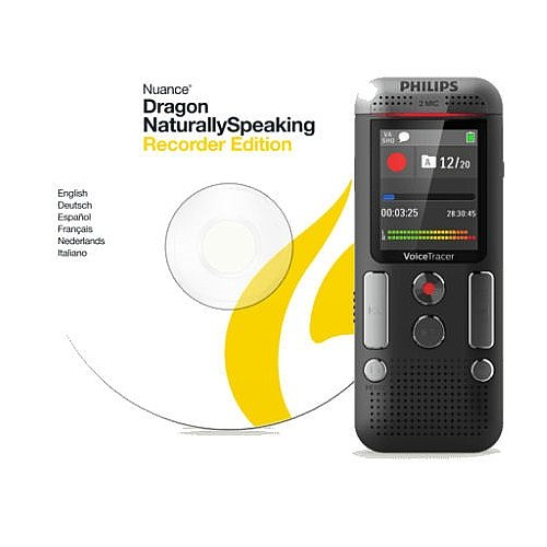 Philips Voice Tracer DVT2700/00 Digital Voice Recorder, Black by Philips