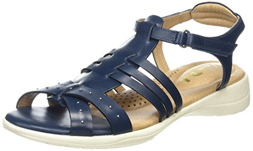 Trek Blue Sandals Toe Soft Women's Open Van Ocean Dal 61f7xwxp
