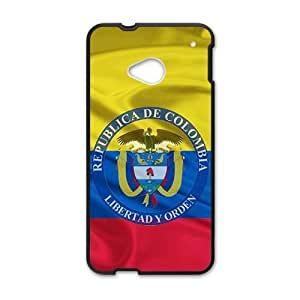 Republica de Colombia libertad y orden Cell Phone Case for HTC One M7