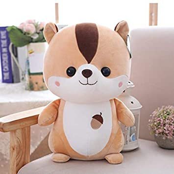 A Little Swag Cute Chubby Baby Squirrel, Plush Soft Toys for Kids – 25 cm.