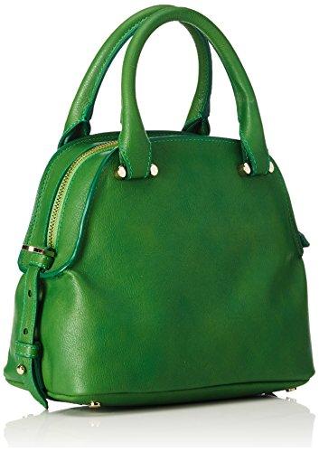 Trussardi Jeans 76B20551, Borsa a mano Donna, Verde, 22 cm