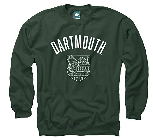 Ivysport Dartmouth College Crewneck Sweatshirt, Legacy, Hunter Green, Large