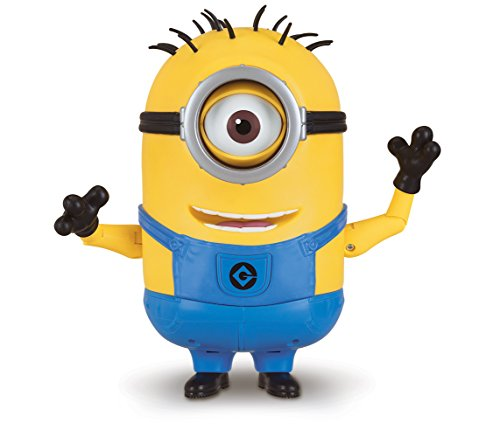 Despicable Me Talking Minion Carl Toy
