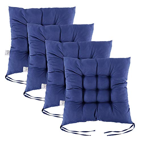 Pearl Office Chair - willstar Set of 4 Chair Pads with Ties 15