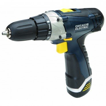 """Chicago Pro Lithium Ion Cordless Drill Driver 12 Volt 3/8"""""""