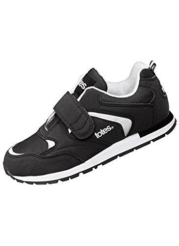 totes Men's Walking Shoes, Black, Size 9 2E (Black Shoe Tote)
