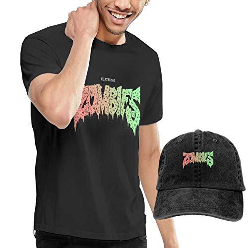 Men Flatbush Zombies Classic Music Band Tee Shirt Black M Buy Tshirt Get One Hat Free
