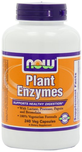NOW Foods Plant Enzymes, 240 Vcaps, Health Care Stuffs