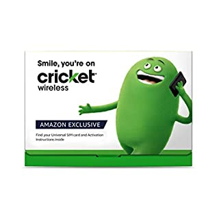$55 Monthly Carrier Subscription for Cricket Unlimited & 15GB Mobile Hotspot plan + Cricket Wireless SIM Kit