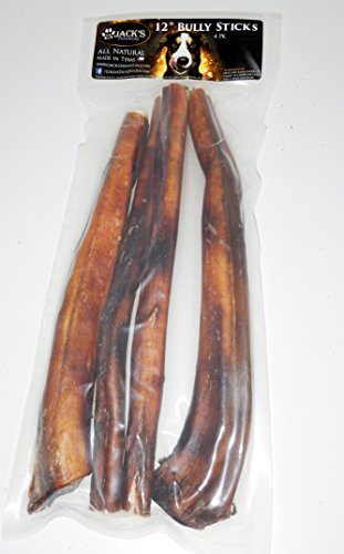 1 texas sized 12 inch thick bully sticks for dogs 100 all natural dog treats sourced and. Black Bedroom Furniture Sets. Home Design Ideas