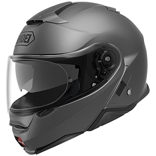 (Shoei Neotec II Flip-Up Motorcycle Helmet Matte Deep Grey Large (Additional Size and Colors))