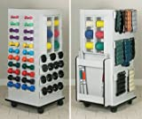Hercules Tower Rac - CabinetRac Vangaurd series Model 5139A - Storage rac system Physical Therapy / Exercise Equipment Storage Item# 5139A