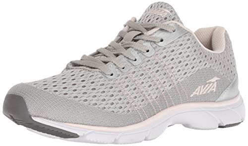 (Avia Women's Avi-Rove-II Walking Shoe, Chrome Silver/Rose Water/Steel Grey, 7 M US)