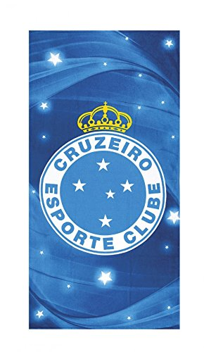 fan products of Cruzeiro Esporte Clube 07 Licensed Brazilian Soccer Team, Velour Beach Towel 30