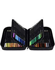 Orionstar Coloured Pencils Set of 72 Colors with Zipper Case for Adult Artist Beginner, Vibrant Numbered Pencil with Premium Soft Core, Professional Art Supplies for Sketching Shading Coloring Book