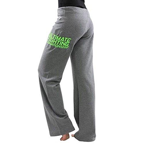 Ufc Tuf pour femme Team Melendez Pantalon–Gris/vert fluo