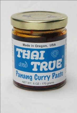 Thai and True Curry Paste, Panang - 6 Oz Jars (3-pack) by Thai and True