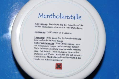 Reine Mentholkristalle - 100 Gramm - von !himalaya products product image