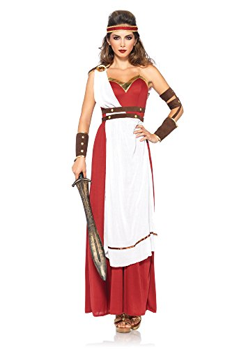 Leg Avenue Women's Spartan Goddess Costume, Multi, Medium/Large