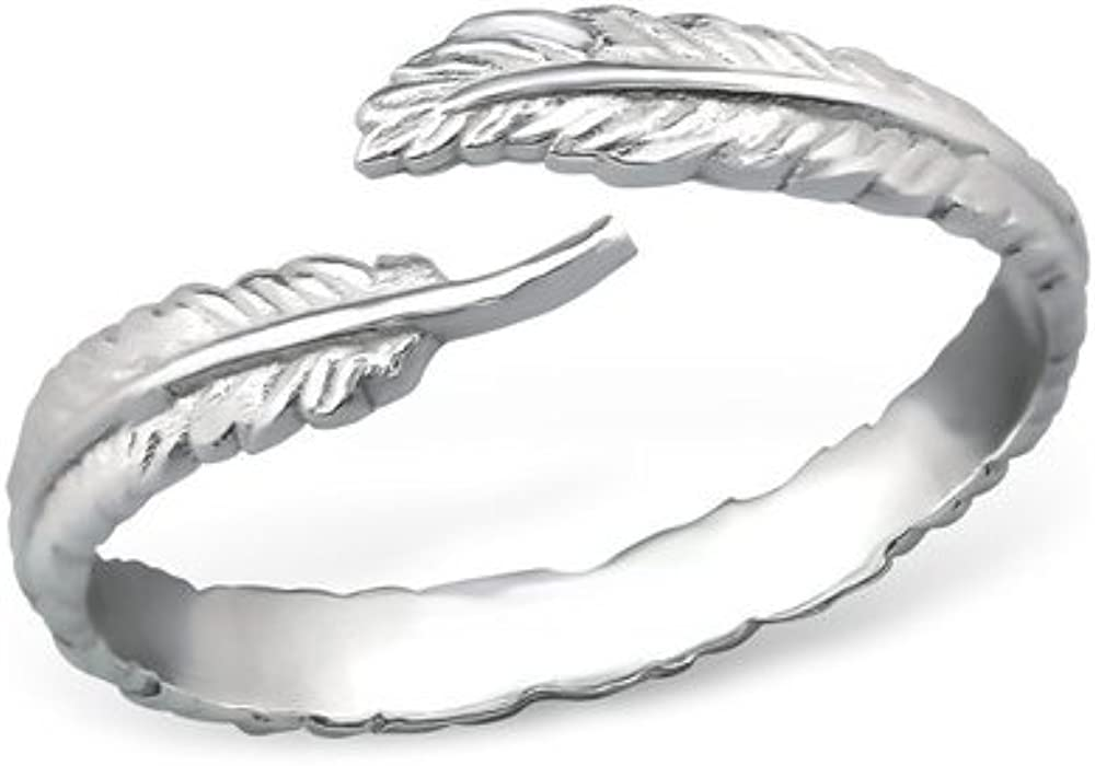 Caratera Open Jeweled Rings 925 Sterling Silver