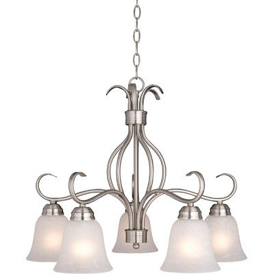 Maxim Lighting Basix 5-Light Chandelier Down Light