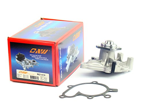 Ford Probe Water Pump - OAW MZ1410 Engine Water Pump for Ford Probe & Mazda 626 Protege MX6 2.0L 1993 - 2003