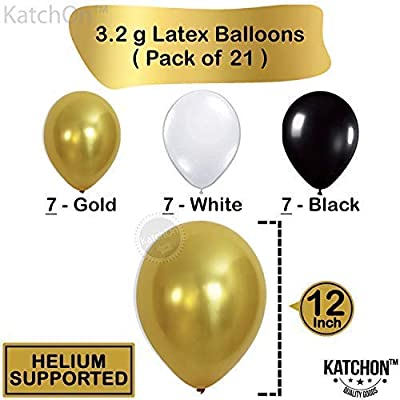 Gold 21st Birthday Decorations Large Pack Of 29