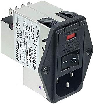 PWR Ent Mod RCPT IEC320-C14 Pnl