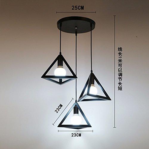 Repasser Lampe De Gzlight Lustre 3 Plafond Fer Suspension À Suspendu E9YWeDH2I