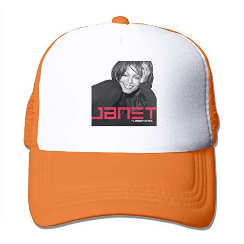 Classic Baseball Cap Janet Jackson Janet Hiking Caps One Size Fit All Orange]()