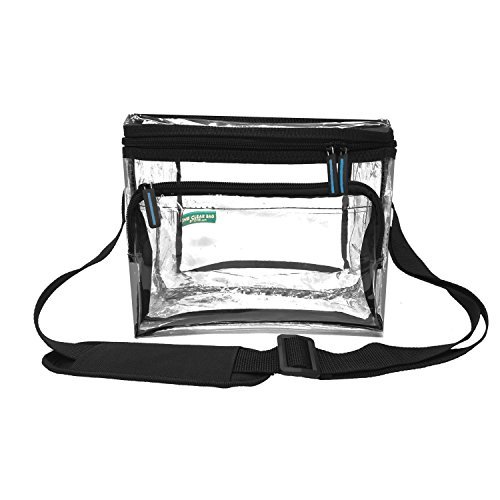 Clear Lunch Bag Medium Black product image