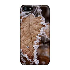 New Shockproof Protection Case Cover For Iphone 5/5s/ Dry Leaf Case Cover
