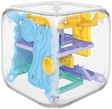 ZChun - Mini Cubo de Laberinto mágico en 3D, Laberinto Giratorio, Juego de Puzzle de Bolas de Juguetes para niños, Regalo Inteligente para niños: Amazon.es: Hogar