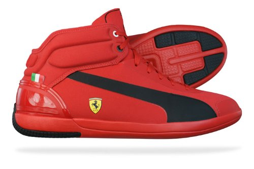 Puma Driving Power Light SF Ferrari Mens Trainers / Shoes - Red
